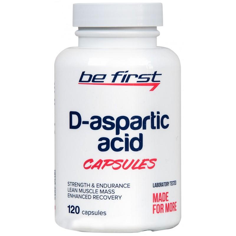 Be First D-Aspartic Acid Capsules 120 caps