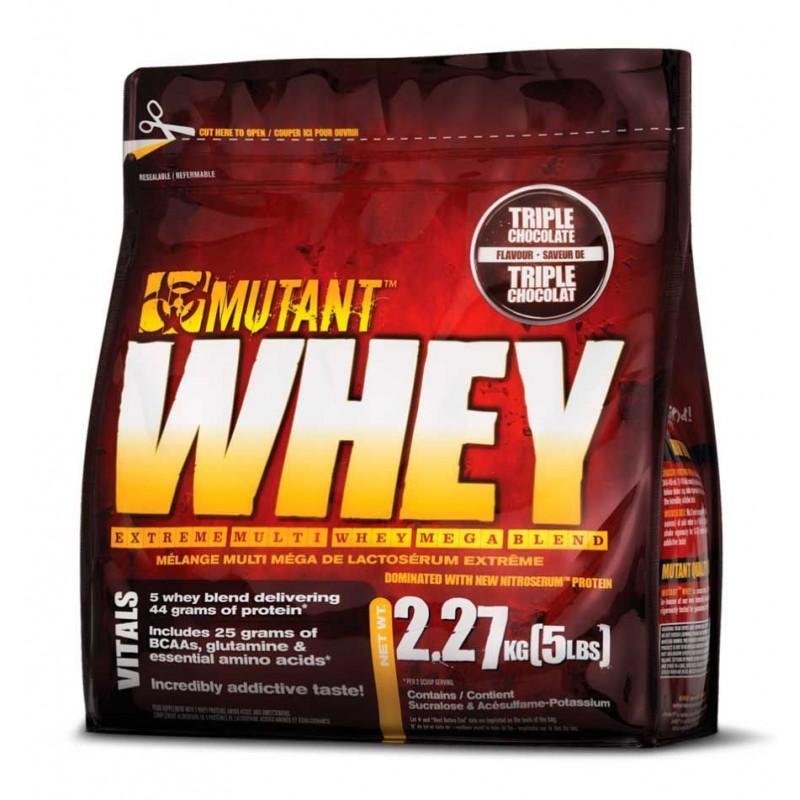 Mutant Whey 2270g + шейкер Atlant Power Gold 700ml