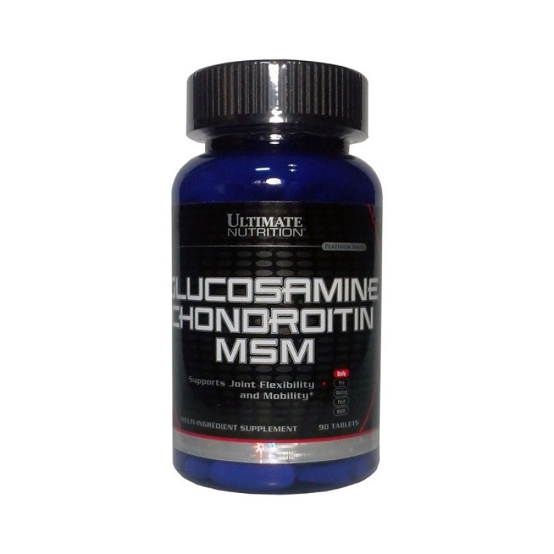 Ultimate Nutrition Glucosamine & Chondroitin + MSM 90 tab