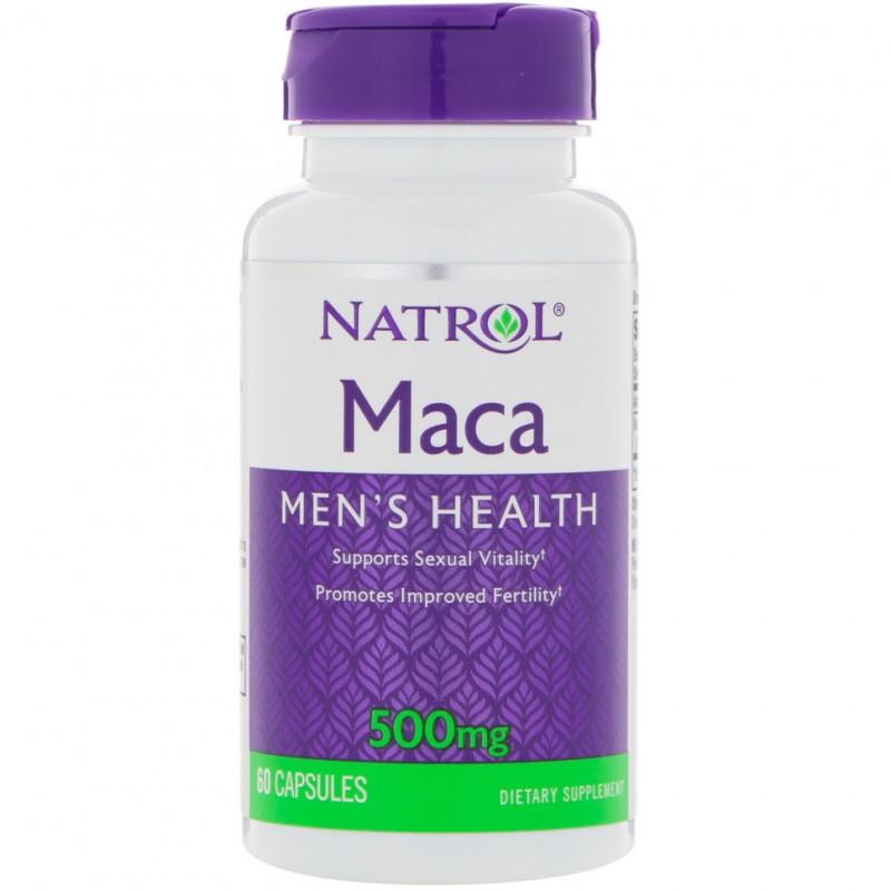Natrol Maca 500mg 60 caps