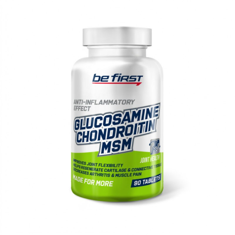 Be First Glucosamine Chondroitin MSM 90 таблеток