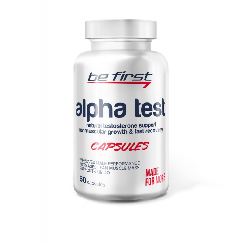 Be First Alpha Test Capsules 60 caps