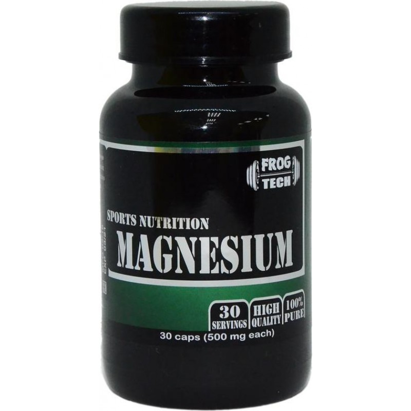 Frog Tech Magnesium Магний 500mg 30 caps