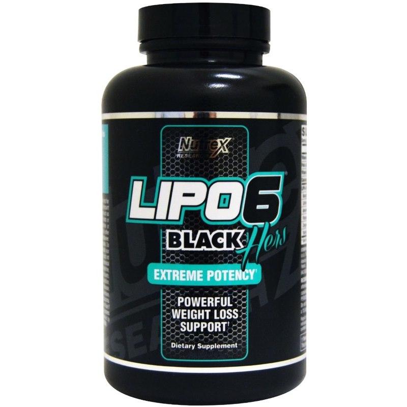 Nutrex Lipo-6 Black Hers 60 caps