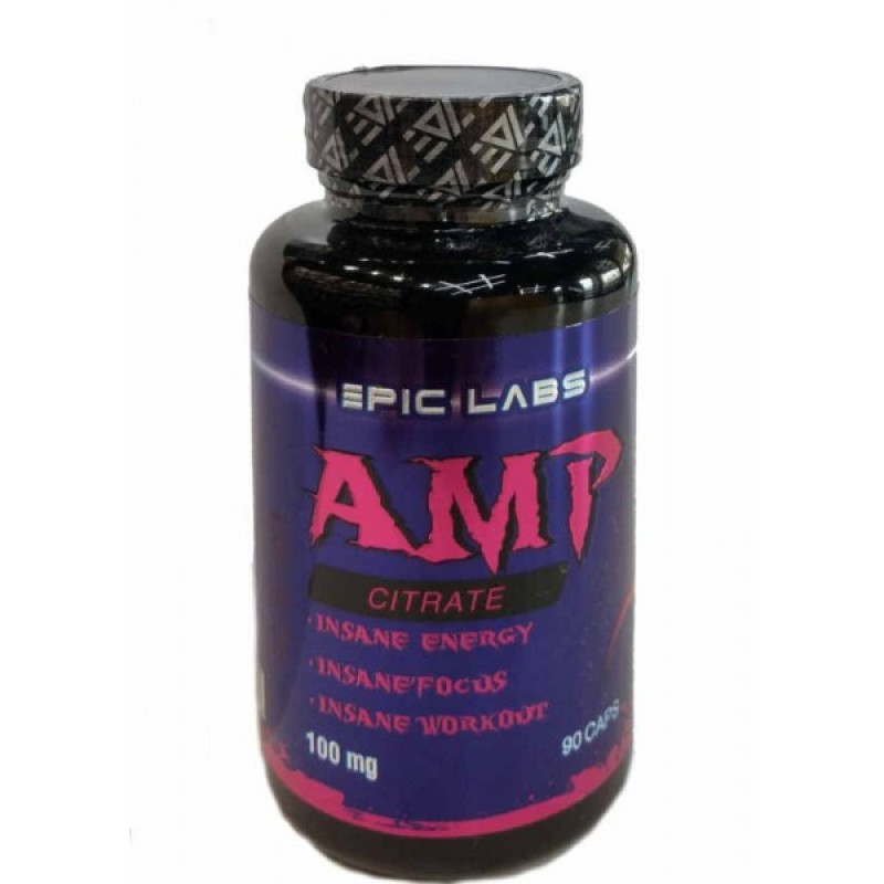 Epic Labs AMP Citrate 100 мг 90 caps