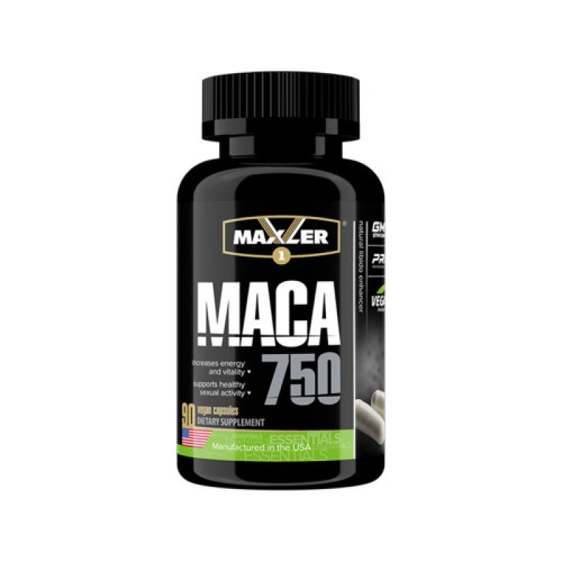 Maxler Маcа 750 мг 90 капсул