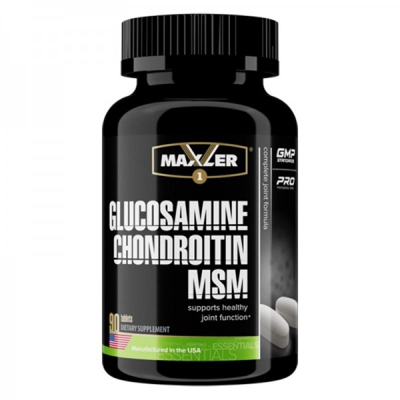 Maxler Glucosamine-Chondroitine-MSM 90 tab