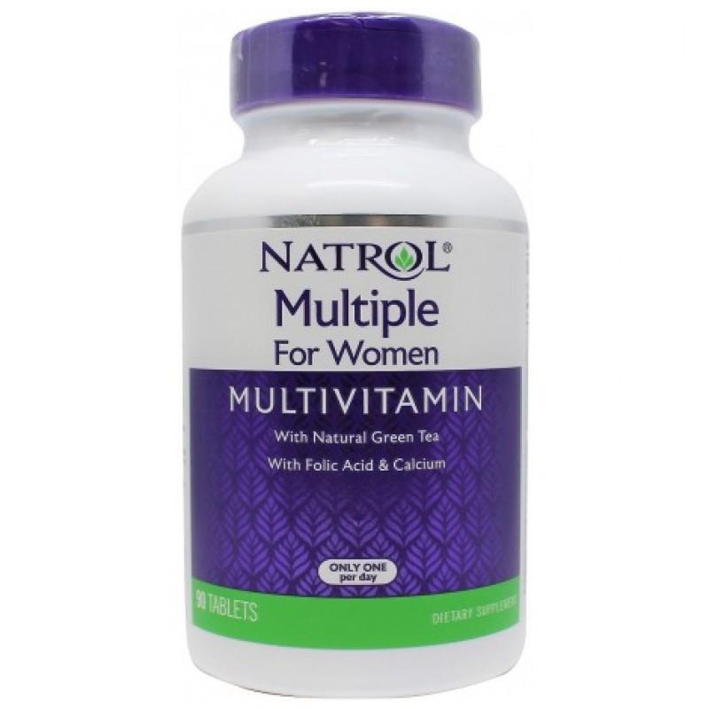 Natrol Multiple For Women Multivitamin 90 tab