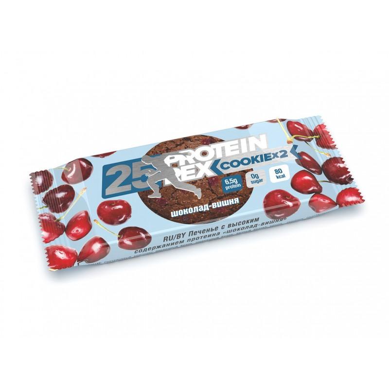 """ProteinRex Cookie 50 гр. """"шоколад-вишня"""""""